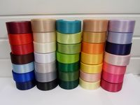Black Satin ribbon, 2, 10 or 25 metres, Double sided, 3mm 7mm 10mm 15mm 25mm 38mm 50mm Rolls,